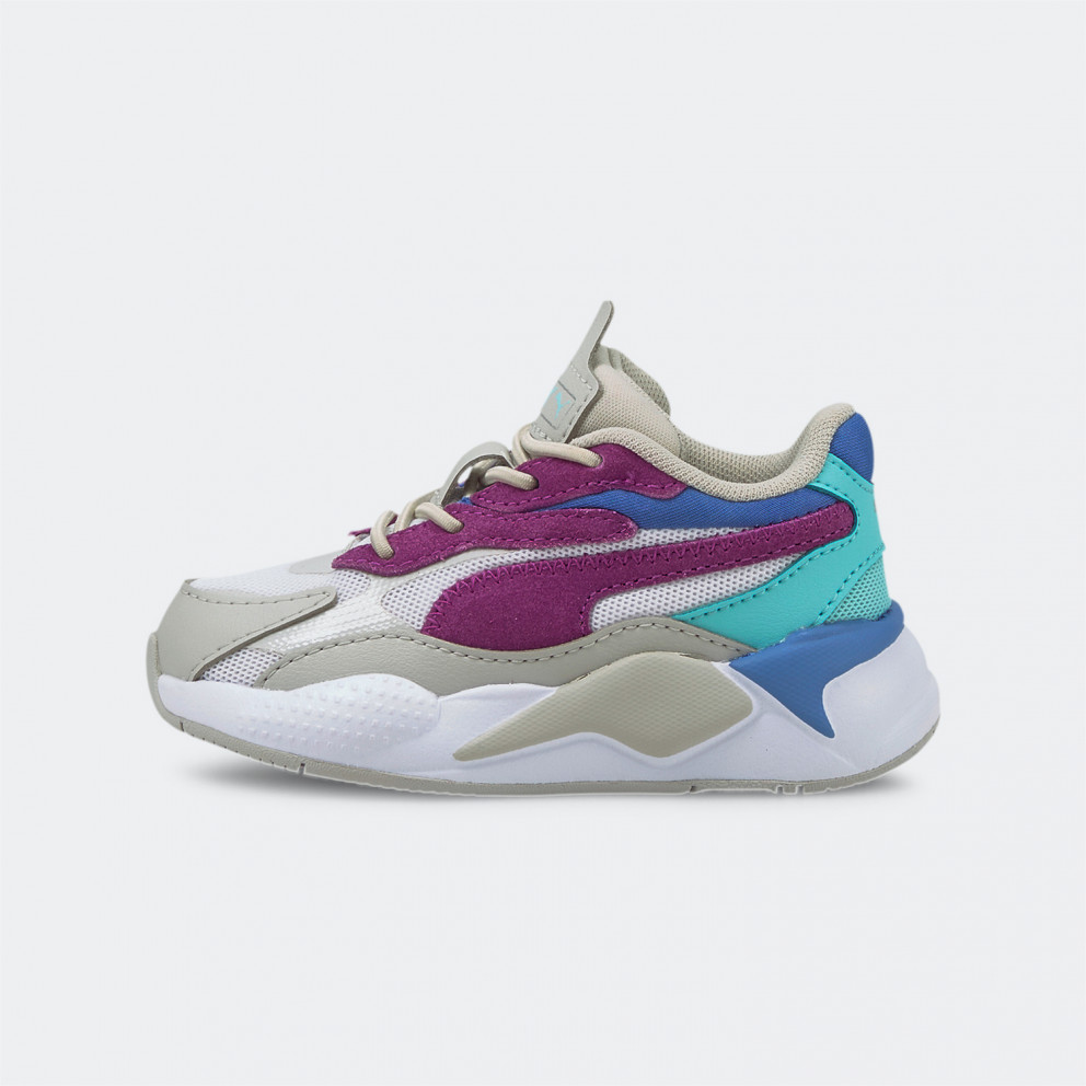 Puma Rs-X³ Neon Flame Βρεφικά Παπούτσια