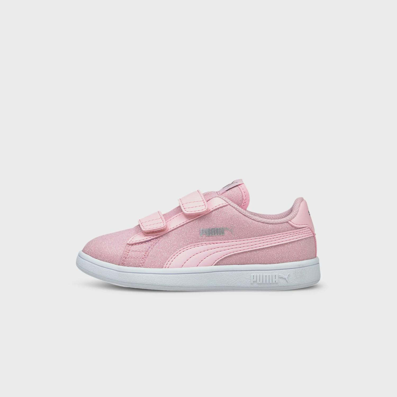 Puma Smash V2 Glitz Glam Παιδικά Παπούτσια (9000072543_51280)