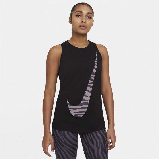 Nike Dri-FIT Icon Clash Γυναικείο Αμάνικη Μπλούζα