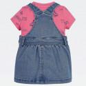 Tommy Jeans Denim Dungaree Infant's Dress Set