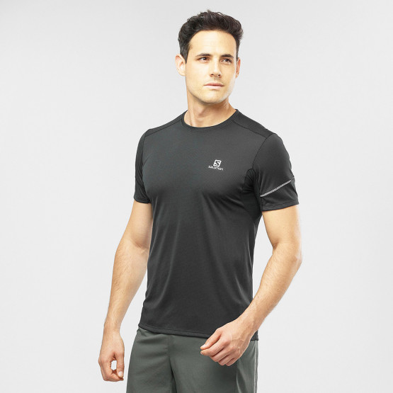 Salomon Trail Running Men Agile Ss Tee M Black Μπλ
