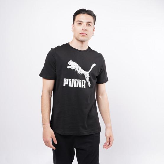 Puma Graphic Tee Logo Play Ανδρικό T-shirt