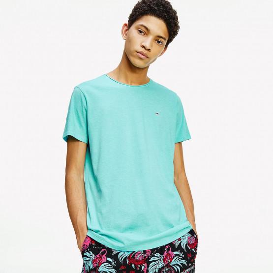 Tommy Jeans Slim Jaspe Ανδρικό T-Shirt