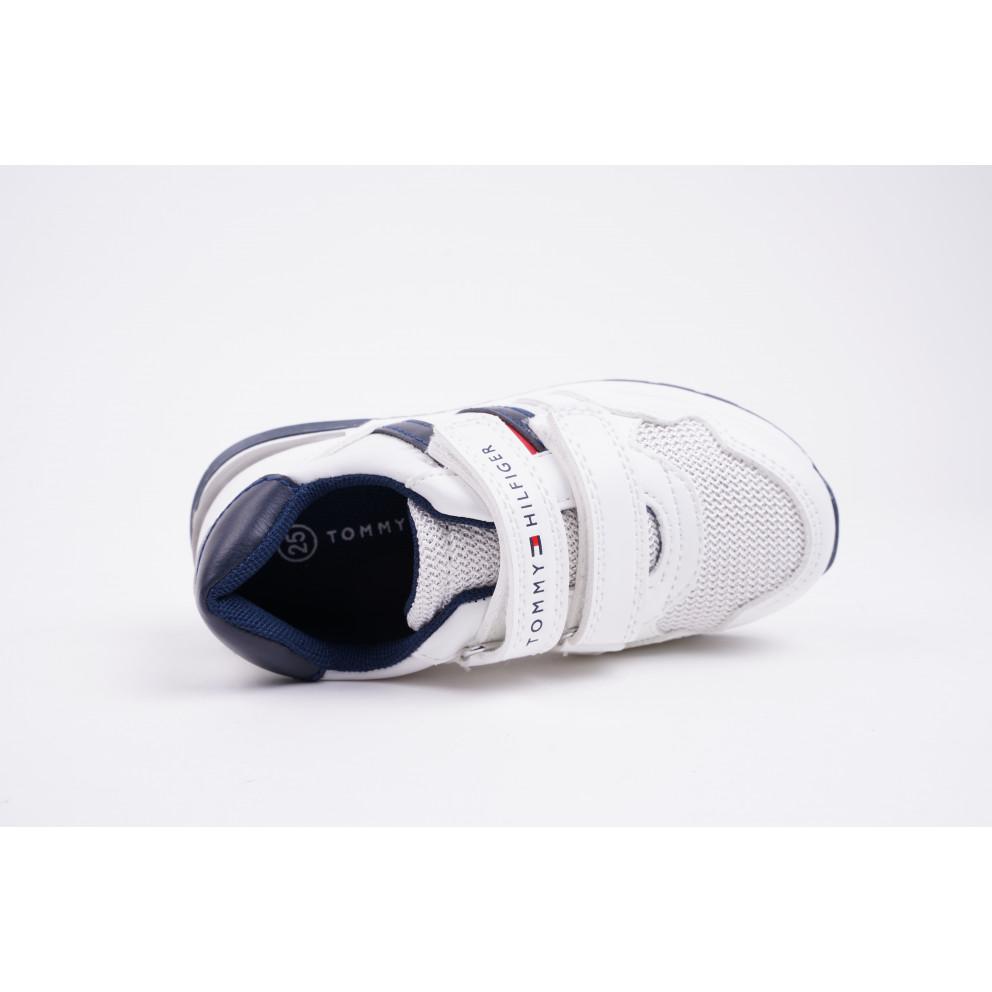 Tommy Jeans Low Cut Velcro Παιδικά Παπούτσια