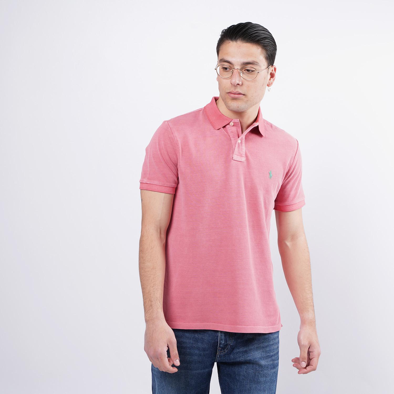 Polo Ralph Lauren Classic Fit Mesh Ανδρικό Polo T-shirt (9000075875_35611)