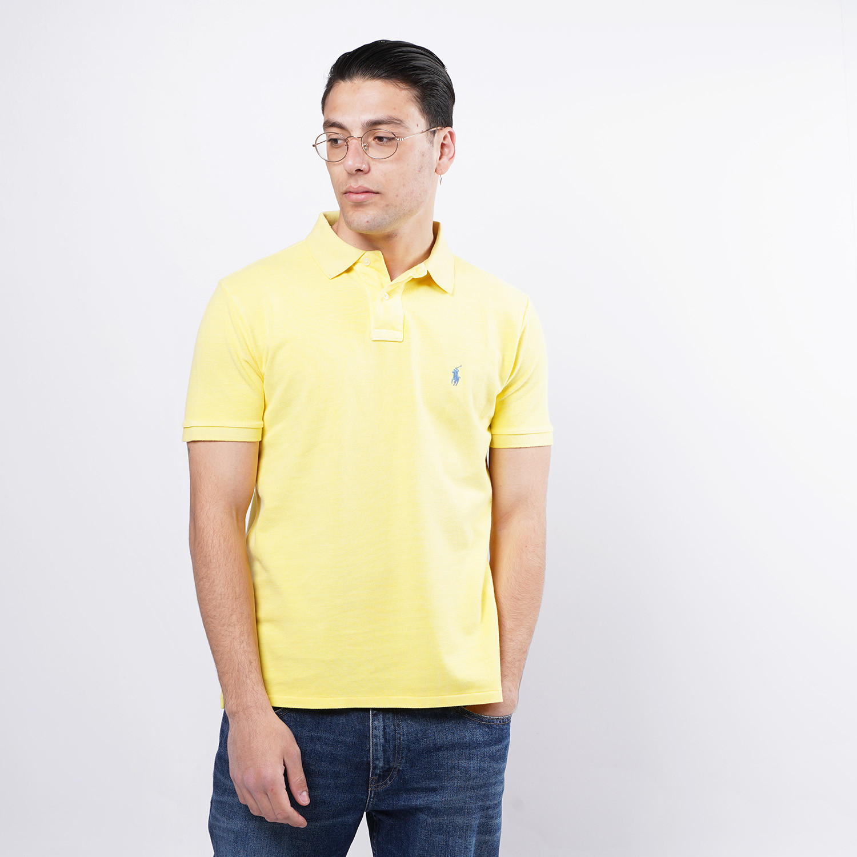 Polo Ralph Lauren Classic Fit Mesh Ανδρικό Polo T-shirt (9000075877_32311)