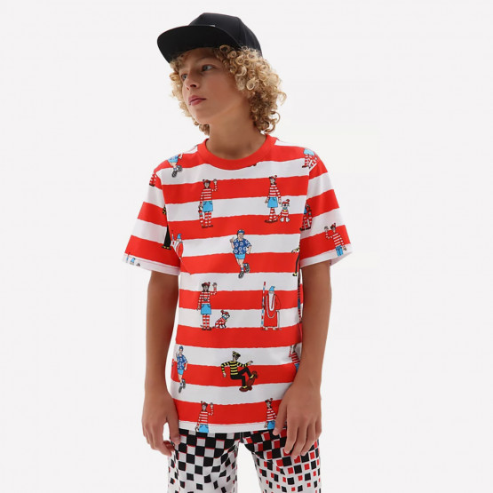 Vans X Where's Waldo? Παιδικό T-shirt