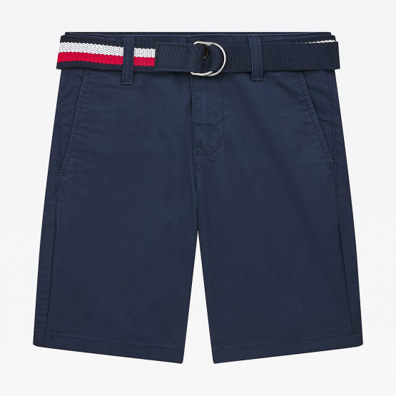 Tommy Jeans Essential Belted Chino Παιδικό Σορτς