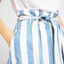 Lee Button Front Skirt Dawn Blue