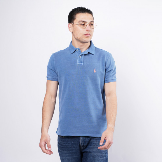 Polo Ralph Lauren Classic Fit Mesh Ανδρικό Polo T-shirt