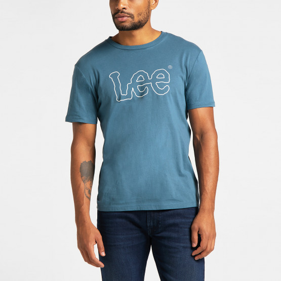 Lee Wobbly Logo Men's T-Shirt