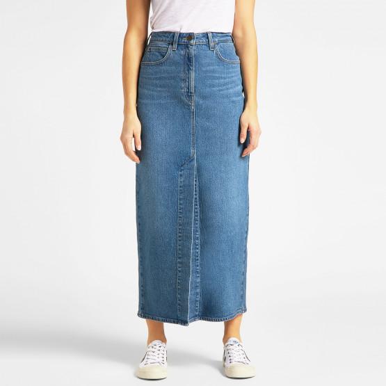 Lee Ultra Long Split Woman's Skirt