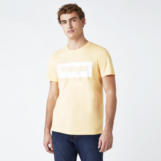 Wrangler Logo Ανδρική Μπλούζα