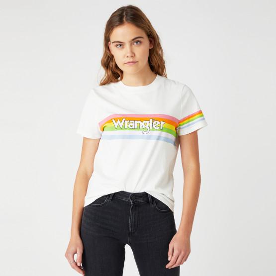 Wrangler High Rib Γυναικείο T-Shirt