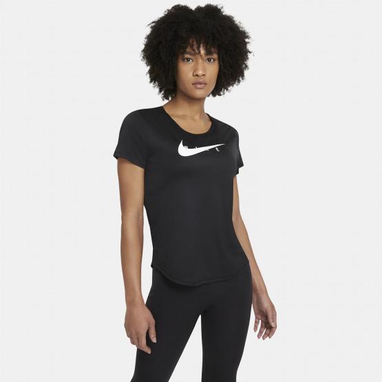 Nike Swoosh Γυναικείο T-Shirt Για Τρέξιμο