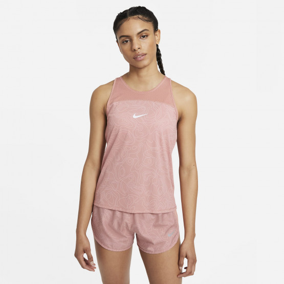 Nike Miler Run Division Γυναικεία Αμάνικη Μπλούζα