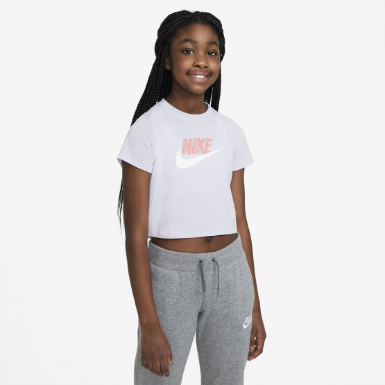 Nike Crop Top Futura Kid's T-Shirt