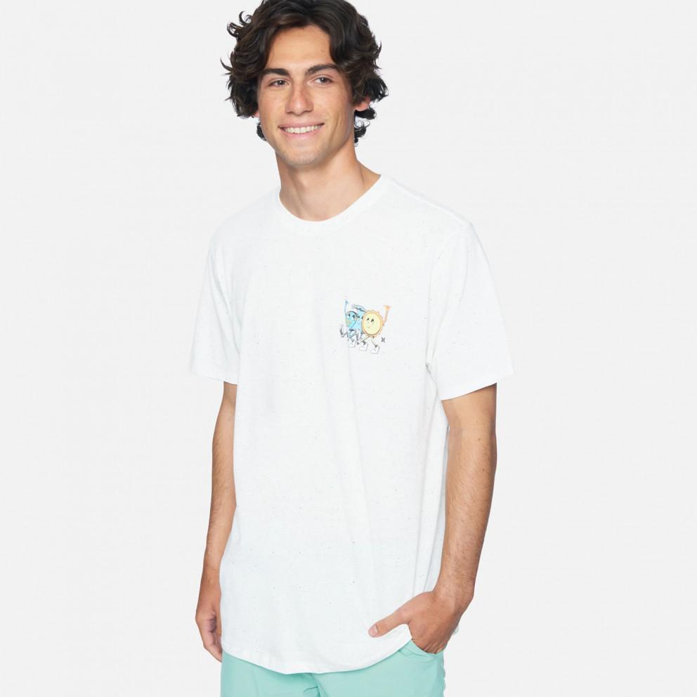 Hurley M Evd Reg Earth And Surfs Ss Μπλουζα