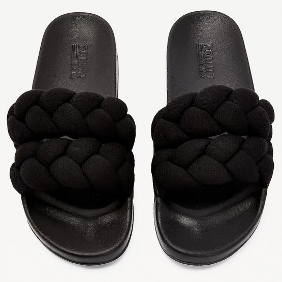 Tommy Jeans Braided Strap Pool Slide