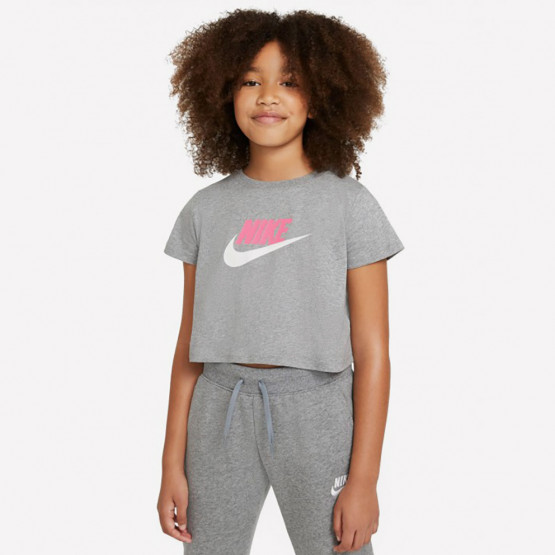 Nike Futura Kids' Crop Top T-Shirt