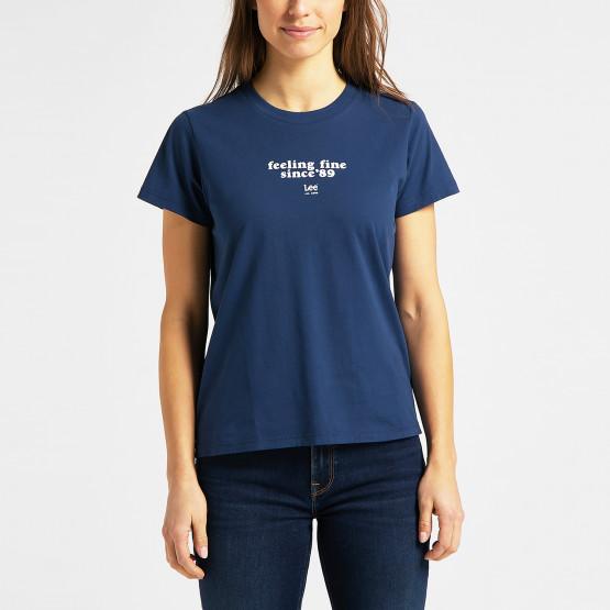 Lee Crew Γυναικείο T-Shirt
