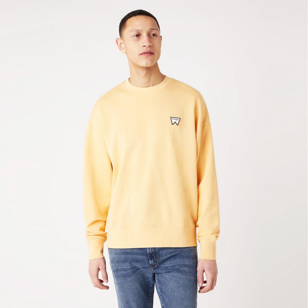 Wrangler Badge Crew Men's Sweatshirt