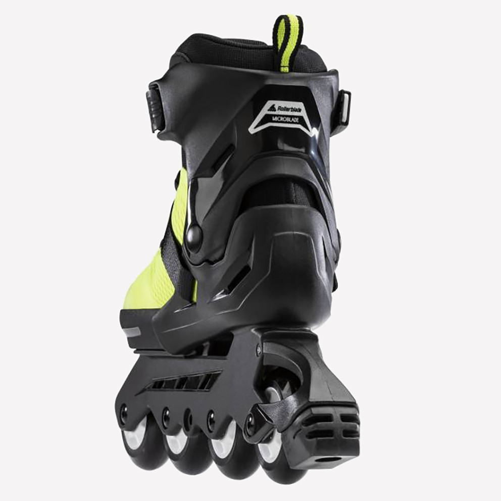 Athlopaidia Πατίνια Microblde SE Neon Yellow/Black
