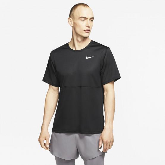 Nike Breathe Ανδρικό T-Shirt για Τρέξιμο