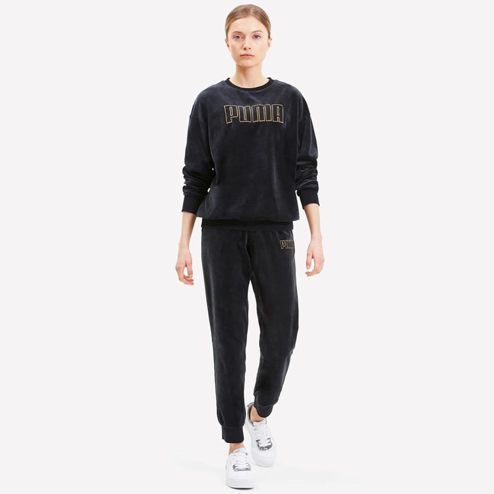 Puma Modern Basics Velour Pants cl