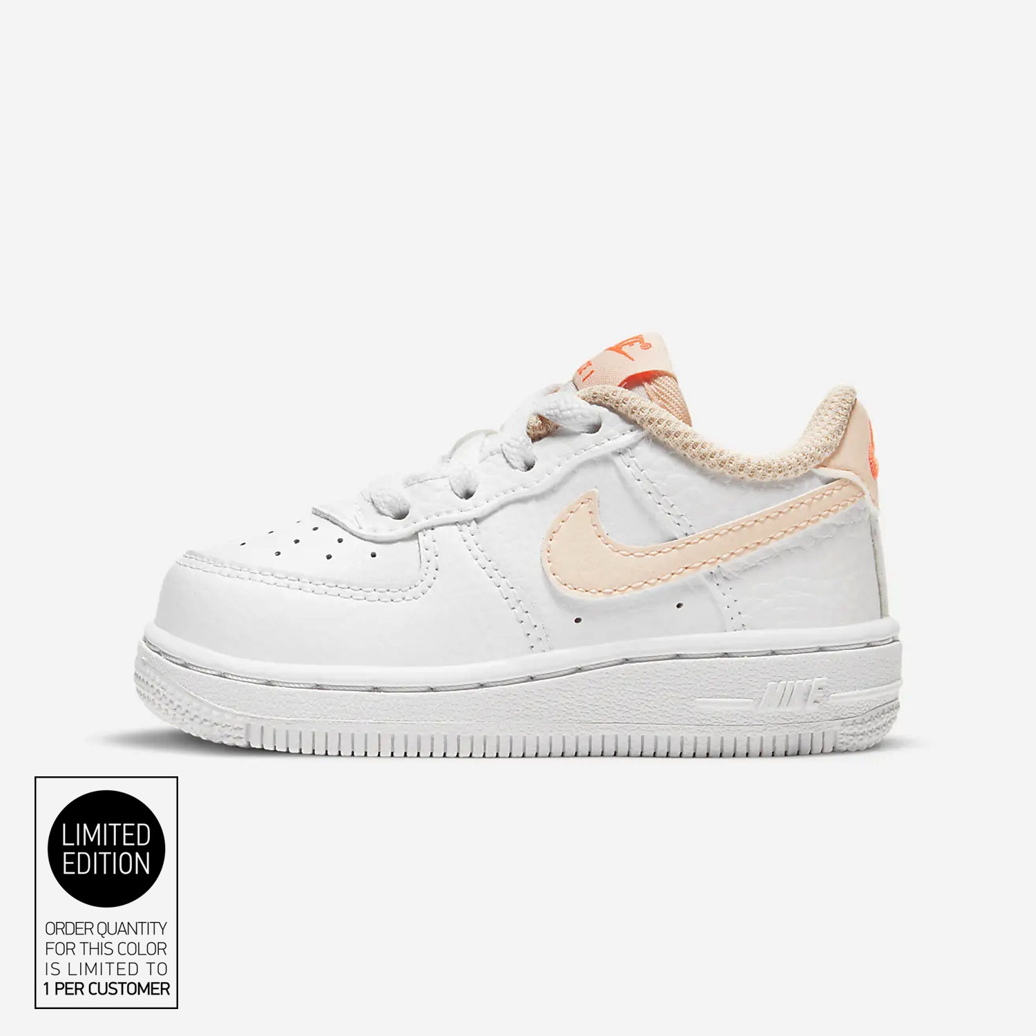 Nike Air Force 1 Βρεφικά Παπούτσια (9000077564_52459)