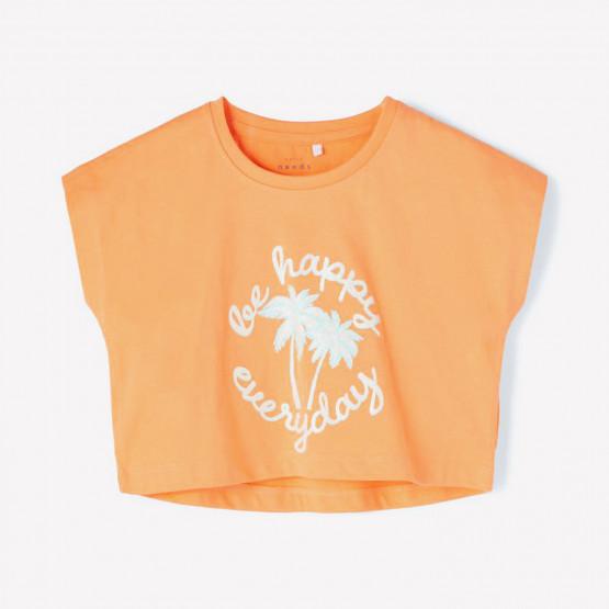 Name it Crop Top Παιδική Μπλούζα