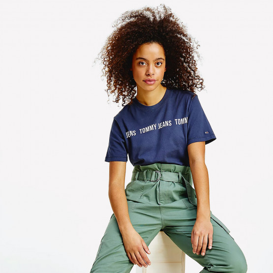 Tommy Jeans Woman's Crop T-Shirt