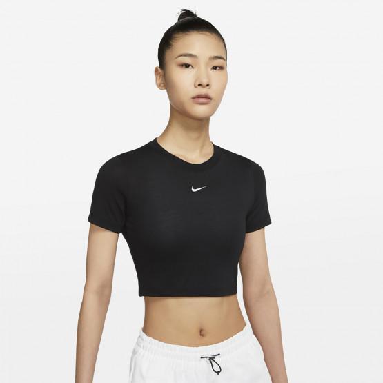 Nike W Nsw Essntl Tee Slim Crp Lbr