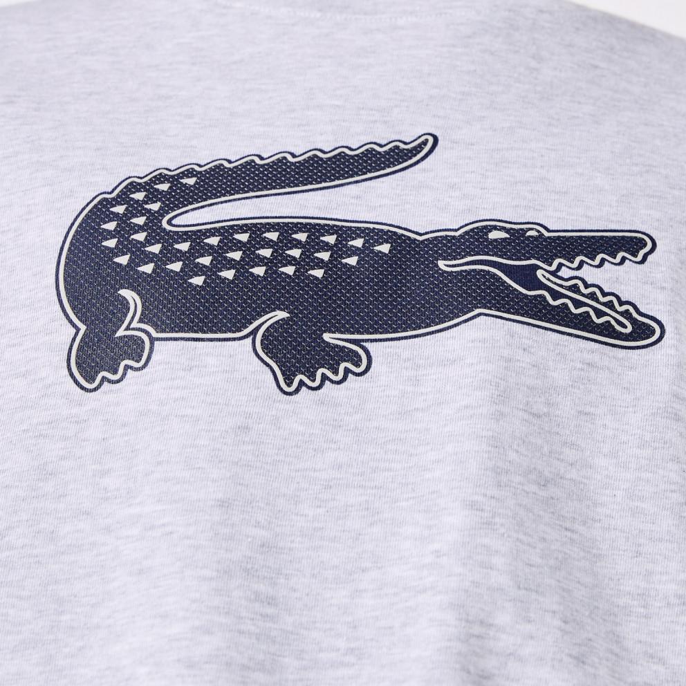 Lacoste Crewneck Logo Ανδρική Μπλούζα