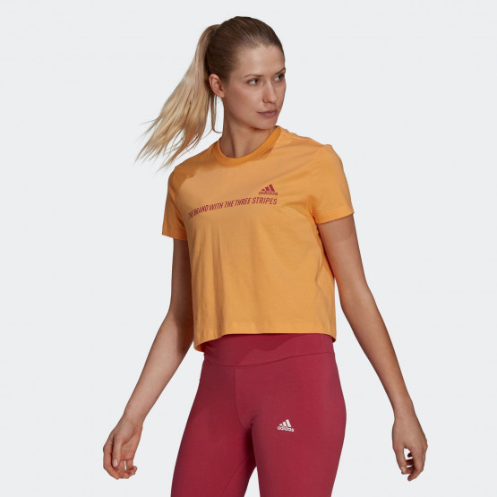 adidas Performance Essentials Gradient Cropped Women's T-shirt