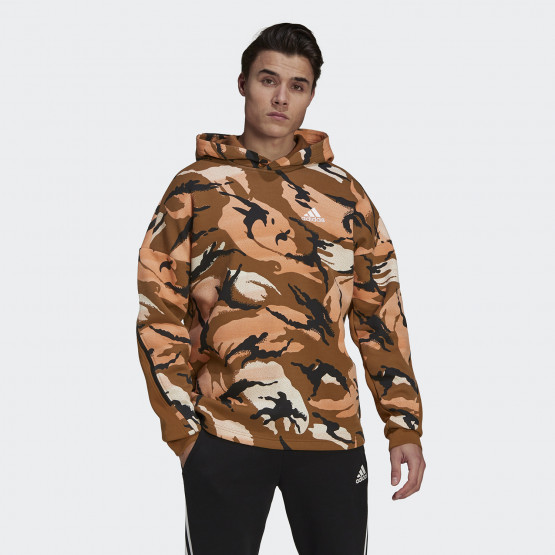 adidas Performance Desert Camouflage Allover Print Men's Hoodie