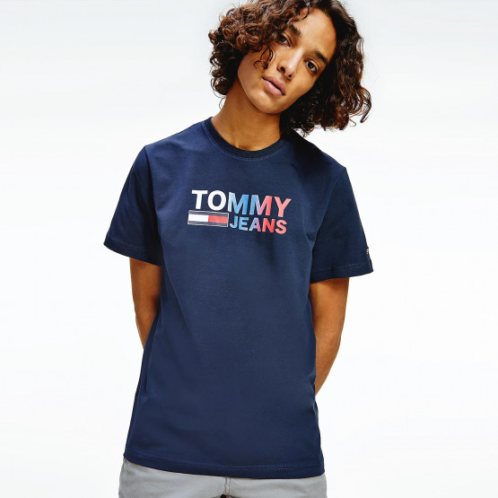 Tommy Jeans Color Corp Logo Ανδρικό T-Shirt