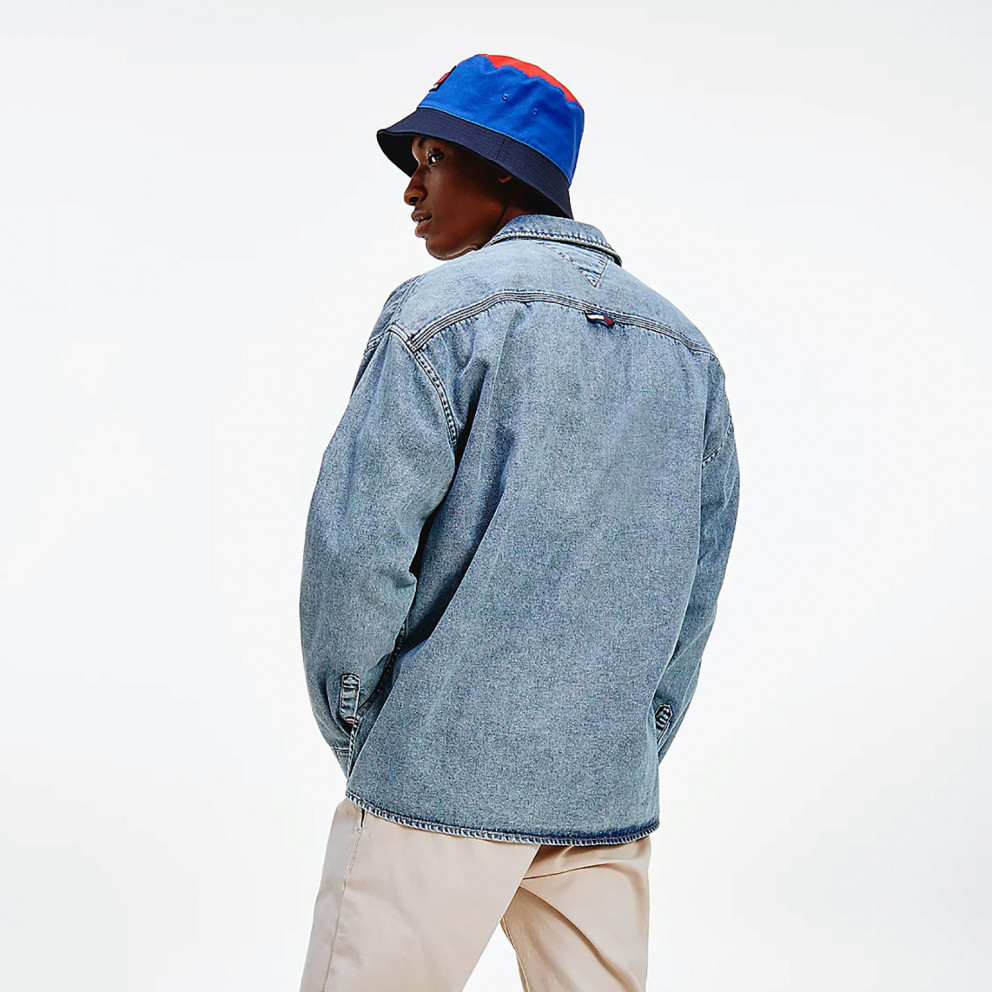 Tommy Jeans Tjm Stone Wash Denim Overshirt