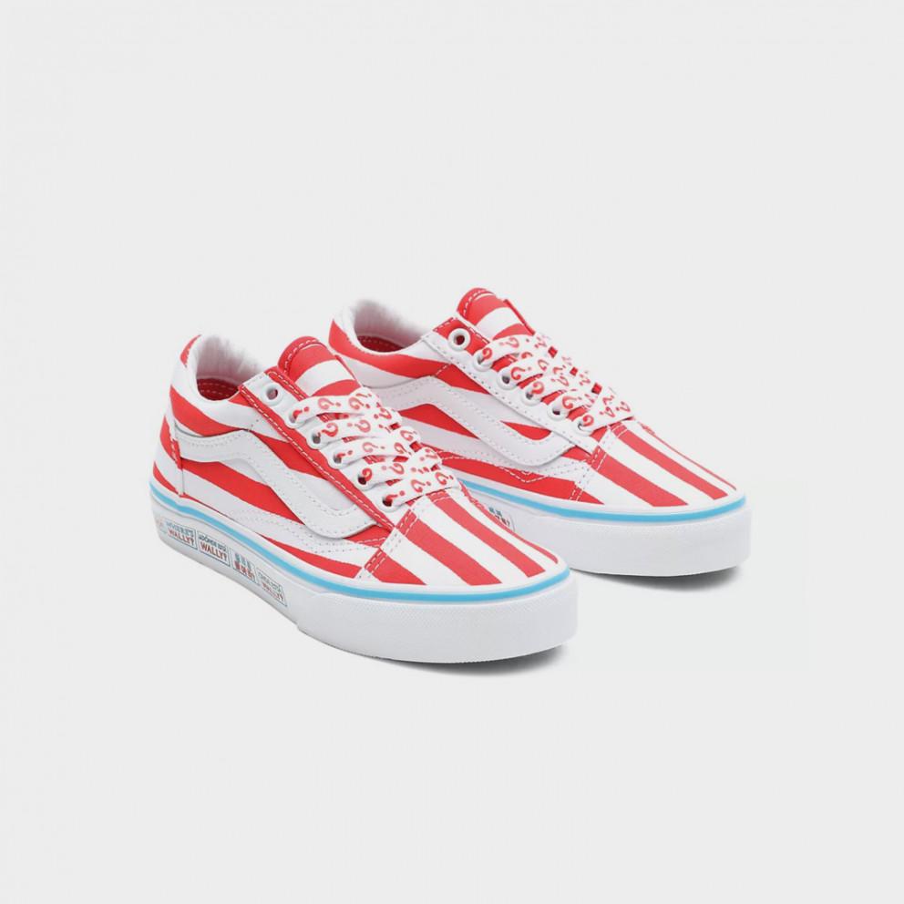 Vans x Where's Waldo? Old Skool Kids' Shoes