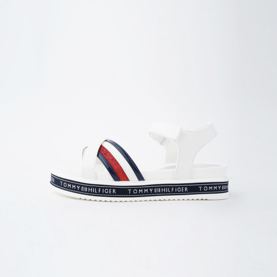 Tommy Jeans Platform Velcro Παιδικά Πέδιλα
