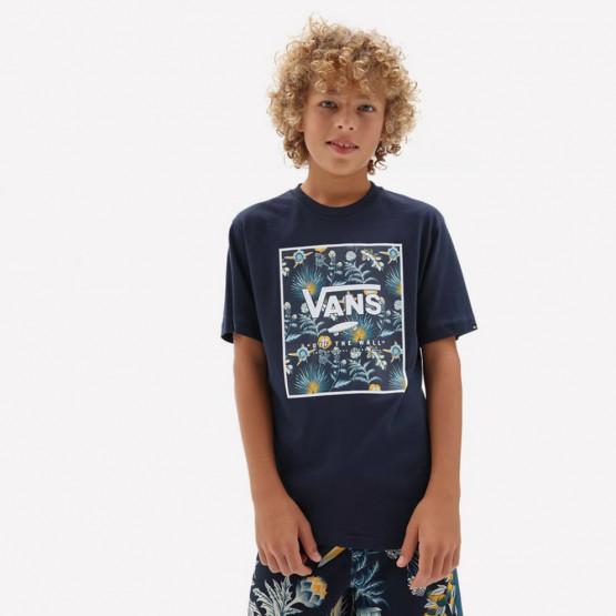 Vans By Print Box Boys Dress Blues/Cal