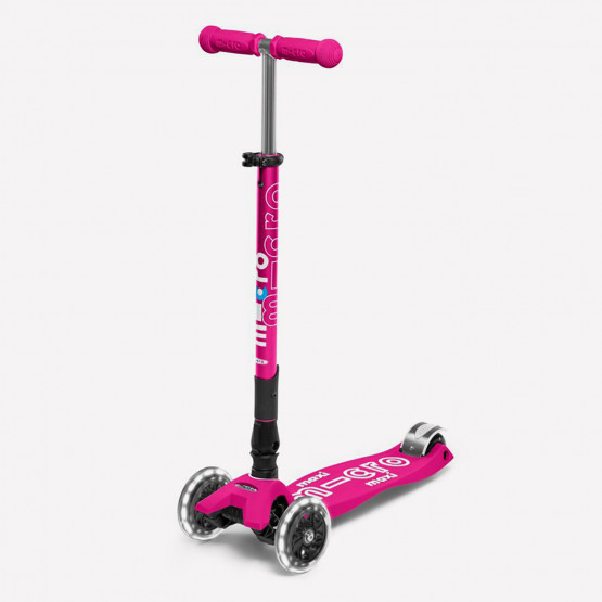 Micro Maxi Deluxe Led Unisex Scooter For Kid's