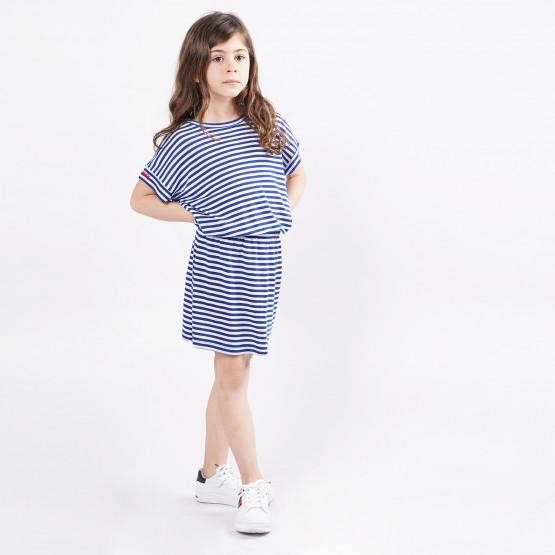 Tommy Jeans Stripe Γυναικείο Φόρεμα