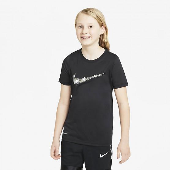 Nike Dry Basketball Swoosh Παιδικό T-Shirt