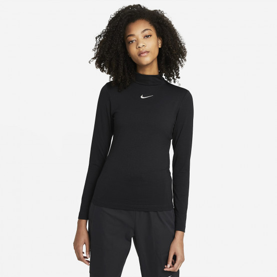 Nike W Nsw Swsh Top Ls Mock