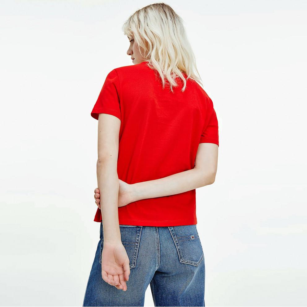 Tommy Jeans Soft Jersey Γυναικεία Μπλούζα