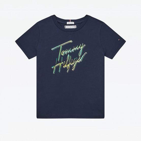 Tommy Jeans Script Print Kid's T-shirt