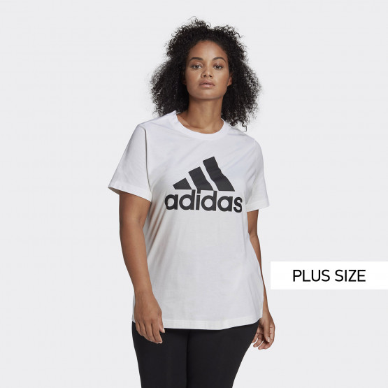 adidas Performance Badge of Sport Plus Size Women's T-shirt