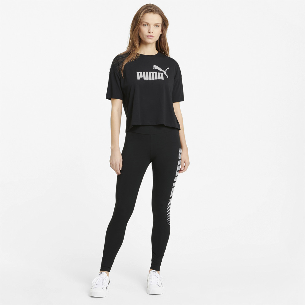 Puma Ess Γυναικεία Cropped Μπλούζα
