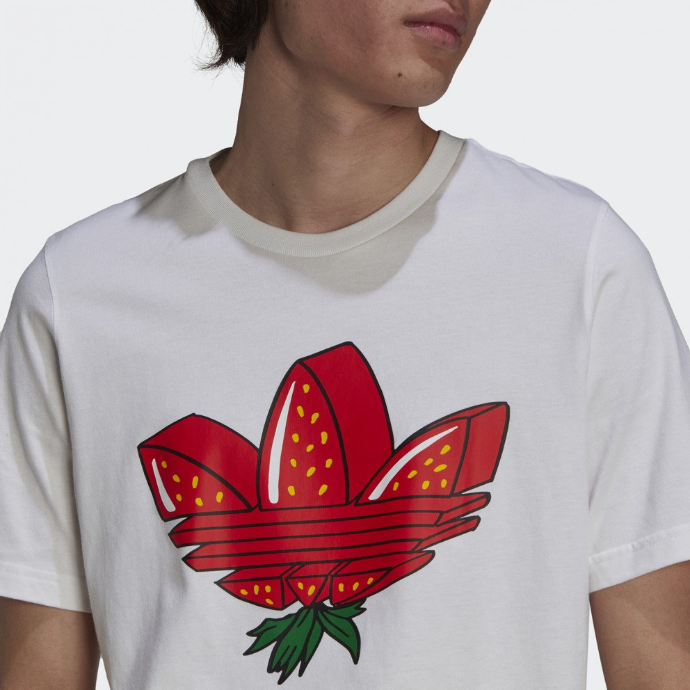 adidas Originals Strawberry Trefoil Ανδρικό T-shirt